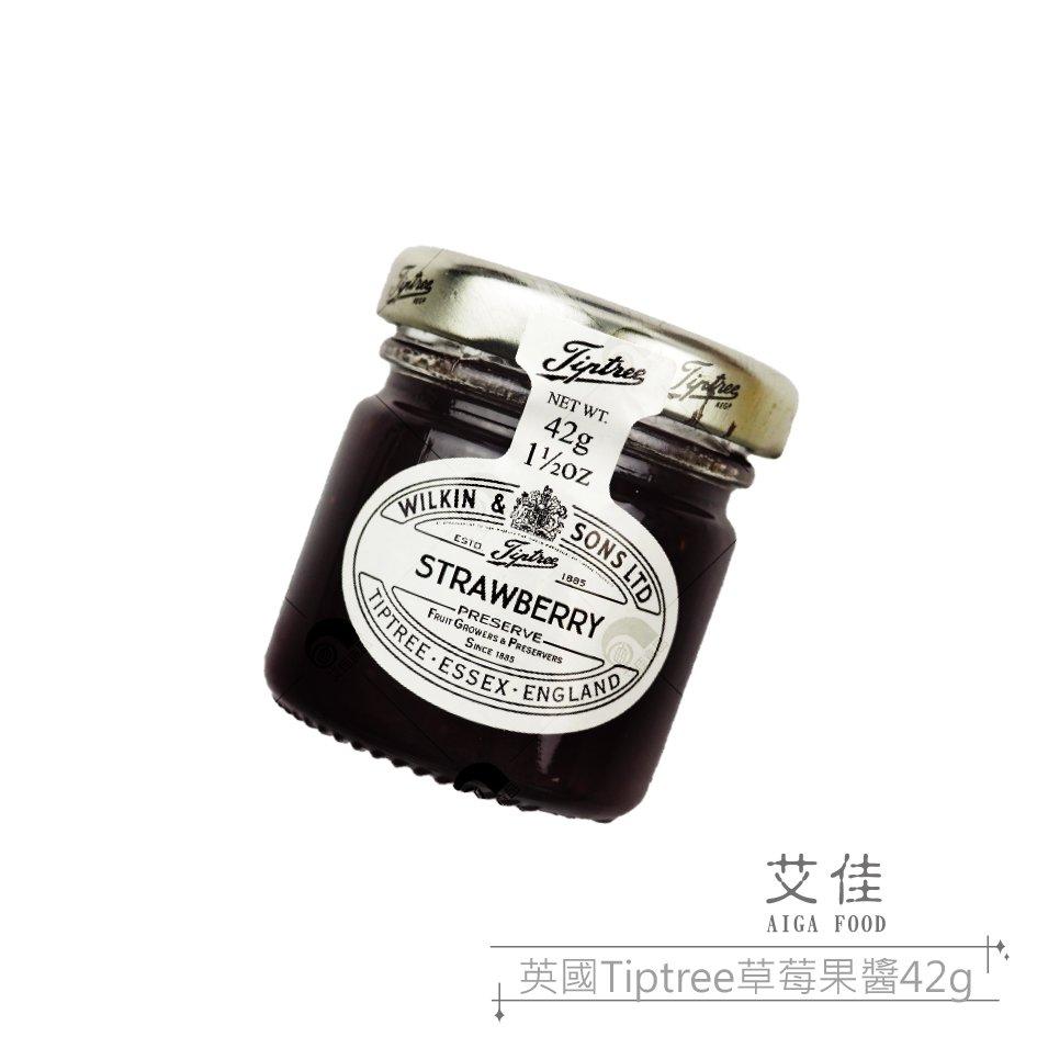 【艾佳】英國Tiptree迷你草莓果醬 42g/罐