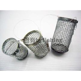 ◎百有釣具◎鐵製誘餌籠~可增加魚兒上鉤機率~規格小
