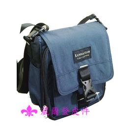 LUNNA霹靂腰包式側背包錢包隨身包斜背包皮包手提包 包 臀包屁股包 貼身腰包323藍色