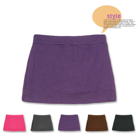 ~esoxshop~╭~自然休閒~直紋款~5色~辣妹褲裙╭~柔軟透氣│舒適彈力~裙子 短裙