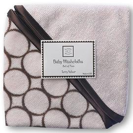 美國【Swaddle Designs】嬰兒洗澡毛巾-粉 (2入)