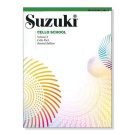 鈴木 大提琴教本~3 Suzuki Cello School Volume~3~Cello
