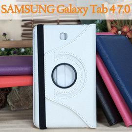 【旋轉、斜立】三星 SAMSUNG Galaxy Tab 4 7.0 T235/T230/T2397 平板專用 荔枝紋皮套/書本式保護套/側掀支架展示