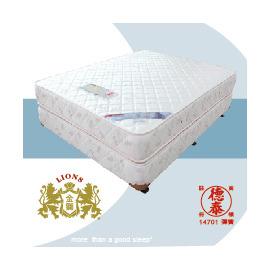 德泰彈簧床墊 金獅900 6x6.2雙人床加大