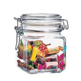 新風尚 高度密封玻璃罐~1L  ◇/收納罐/調味罐/儲存罐/糖果罐