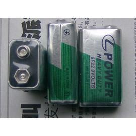 (天球) 9V層疊電池 6F22/6LR61 乾電池/碳鋅電池 [KBO-00010]