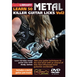 ~Lick Library系列~Learn 50 Metal Killer Guitar