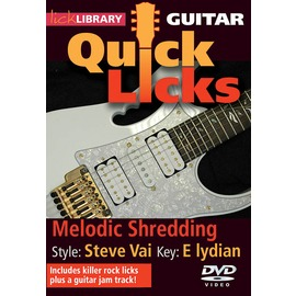 ~Lick Library系列~Melodic Shredding ~ Quick Lic