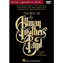 ~吉他DVD系列~The Best of the Allman Brothers Band