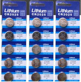 CR2025,CR-2025 水銀電池/鋰電池/紐扣電池/水銀電池 (5入) [KBO-00018]