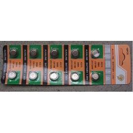 AG10,L1131,LR1130,38,SR54,RW39,V390 水銀電池/鋰電池/紐扣電池/水銀電池 (10入)  [KBO-00035]