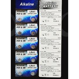 AG3,192,392,SR41W,LR41,L736 水銀電池/鋰電池/紐扣電池/水銀電池 (10入) [KBO-00027]