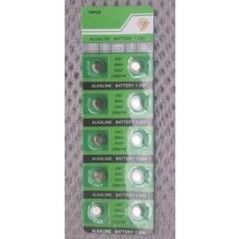 LR927-195/AG7 鋰錳 水銀電池/鋰電池/紐扣電池/水銀電池(10入) [KBO-00032]