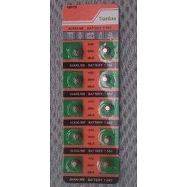 AG5電池(LR754 393 SR754 193 C22)  水銀電池/鋰電池/紐扣電池/水銀電池(10入) [KBO-00030]