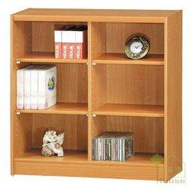 ^~ 家事達 ^~ OA~190~2 櫻桃木色活動隔板收納書櫃
