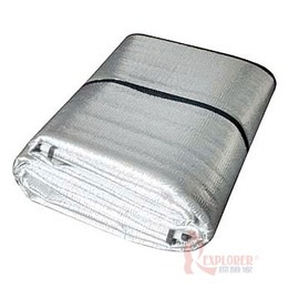 45082 OutdoorBase六人3mm加厚PE鋁箔睡墊(200*270)台灣製造(折疊式野營墊)