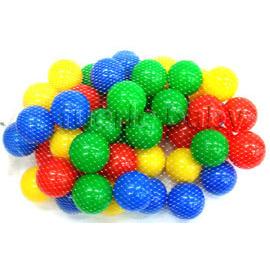 超值彩色球池包50入網袋