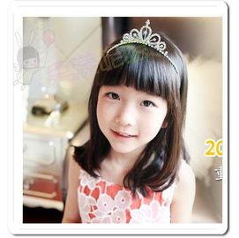 果漾妮妮 ~° 兒童髮圈 ~° 韓單 超美水鑽皇冠髮圈 髮箍 兒童髮箍 表演 畢業 婚禮