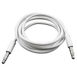 新竹市 iPhone 4/4S/3GS ipod DC3.5mm 公對公 耳機線-聲音檔對錄線 (1米/1M) **雪白** [JIM-00023]