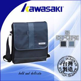 【KAWASAKI】MIT台灣製造流行側背背包  P043-KA132(側背包包.肩背包.大容量.防水.推薦)
