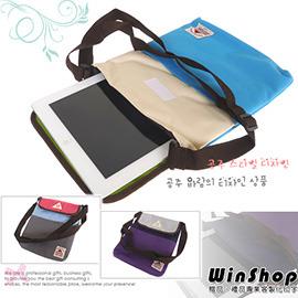 【winshop】A1262 多功能蘋果iPad平板電腦(有背帶)保護包/保護套收納包外出包側背包斜背包