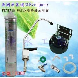 【淨水工廠】《免運費》《附濾心警示器》濱特爾公司貨Everpure濾心型號H300/H-300..QL3-H300/QL3H300可考慮..含DIY安裝零配件