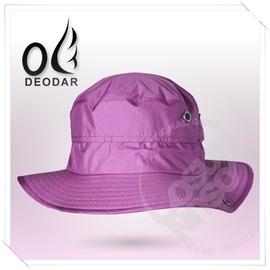 【DEODAR】HELN-TEX 多功能防水透氣圓盤帽(附帽繩_收納體積小)抗UV.排汗.透氣舒適.輕量化(非Gore Tex OR) 紫紅 10H00223-79 &