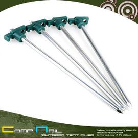 10吋T型尖頭營釘(一組四入) J19-2(T頭鋼釘.T頭營釘.帳篷釘.露營釘.強化營釘.帳篷地釘.推薦)