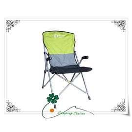 大林小草~DJ-6723 鋁合金方管休閒扶手椅、休閒椅、導演椅、躺椅