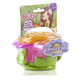 Nuby零食盒(小花/小怪獸) *裝零食的好幫手,超可愛!!!*