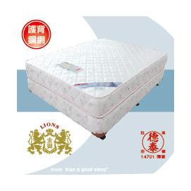 德泰彈簧床墊 金獅900 網 6x6.2雙人床加大