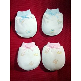 Baby City天絲棉手套(BB812581)