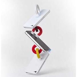 多功能創意 U形磁鐵造型 手機吸盤支架 /手機支架/集線器