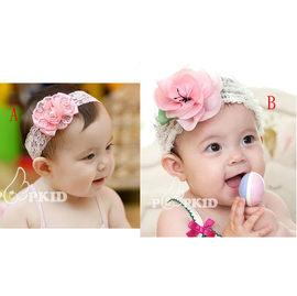 韓版髮帶 一朵鮮花 寶寶公主髮帶 嬰幼兒髮箍【HH婦幼館】
