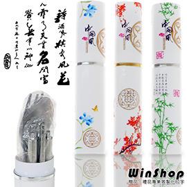 【Q禮品】A1247 中國風不鏽鋼環保餐具組(筷子+叉子+湯匙)環保愛地球,出外攜帶方便,安全又環保