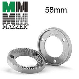 MAZZER 刀盤~MINI手動款 ~58mm平刀組