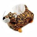 老虎玩偶絨毛面紙套