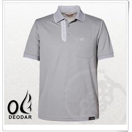 【DEODAR】美國頂級Polartec紳士男POLO衫.排汗.快乾.透氣舒適.輕量化/ 中灰 11900220-92