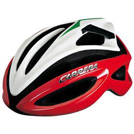 ~3折舊款 ~義大利CARRERA-超通風單車帽 ^(紅白^) 自行車 安全帽 頭盔 腳踏