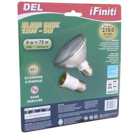 【未來之光】LED9W-Par燈-燈泡-附一個E27加長頭-黃光-1入組/1盒透明包-GN-SDB-1128W-9W-1