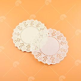 【艾佳】6.5吋圓形花邊紙(約25入/包) (花樣隨機出貨)
