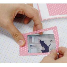 【HH婦幼館】寶麗萊MINI拍立得相片裝飾貼紙-Pastel color 邊框貼 20張入