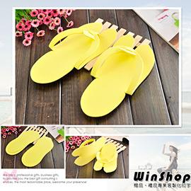 【winshop】A1271 美甲沙龍專用一次性拖鞋(3mm)/拋棄式室內便利酒店旅館沙灘夾腳拖鞋