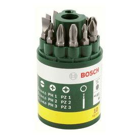 BOSCH博世 9支螺絲起子頭罐裝組★適合各品牌電動工具