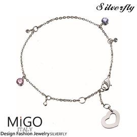 《 SilverFly銀火蟲銀飾 》【MiGO】嬌點手鍊-單鍊款