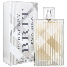 BURBERRY BRIT FOR HER 女性淡香水 TESTER 環保包裝 100ml