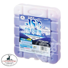 【鹿牌 CAPTAIN STAG】  升級版 保冷劑 (M) 《抗菌超凍媒》冷煤 冰桶 冰磚 戶外行動冰箱專用抗菌冷媒 環保冰塊 冰桶附件 M-6927