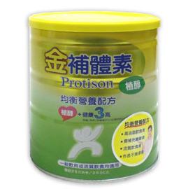金補體素植醇均衡營養配方780g  / 12罐