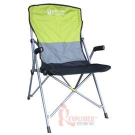 DJ6723鋁合金方管休閒扶手椅 鋁甲武士 導演椅 休閒椅 (附收納袋)束狀收納