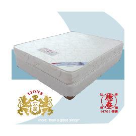 德泰彈簧床墊 雙獅5x6.2雙人床